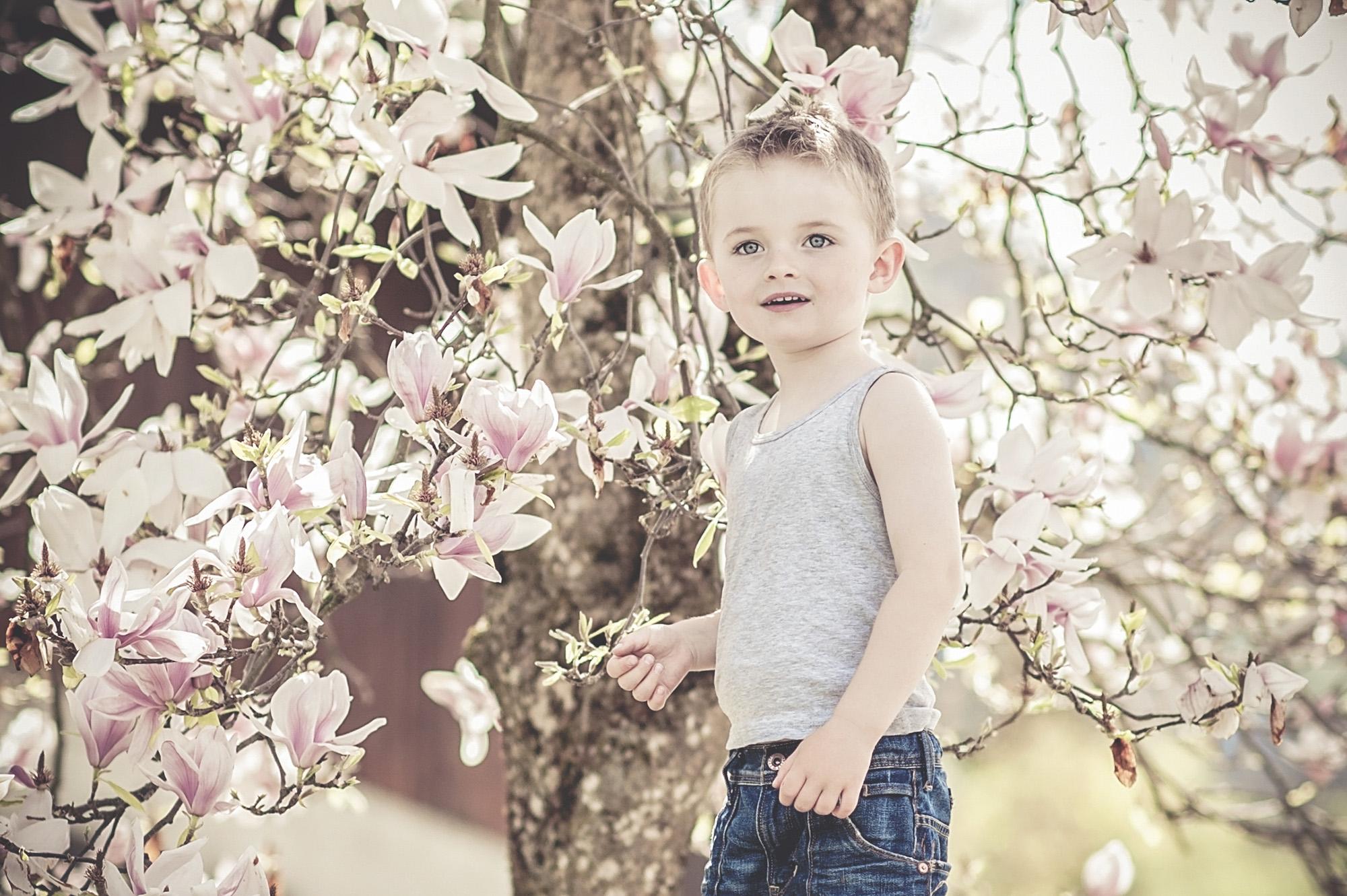 Kinderfotos_Magnolie